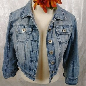 Highway Jeans Cropped Jacket